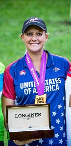 Paige Pearce of Sportsman's Warehouse Redding, Champion Archer